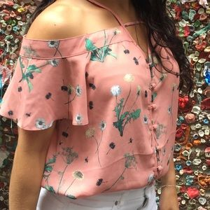Express Coral Top Size S